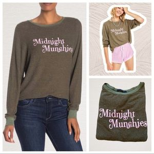 WILDFOX Midnight Munchies Baggy Beach Top NEW